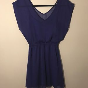 Purple Express Dress, XS